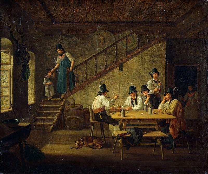 Тирольская таверна. Лоренцо Quaglio II