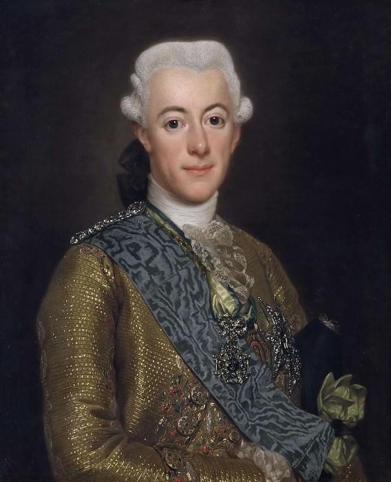 Король Швеции Густав III. Александр Рослин