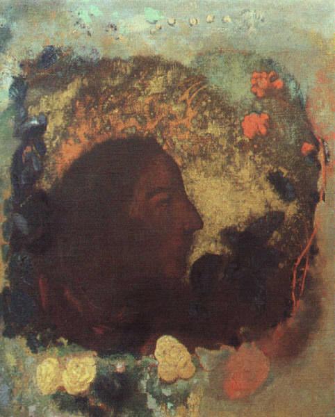 Портрет Поля Гогена, 1903-05. Одилон Редон