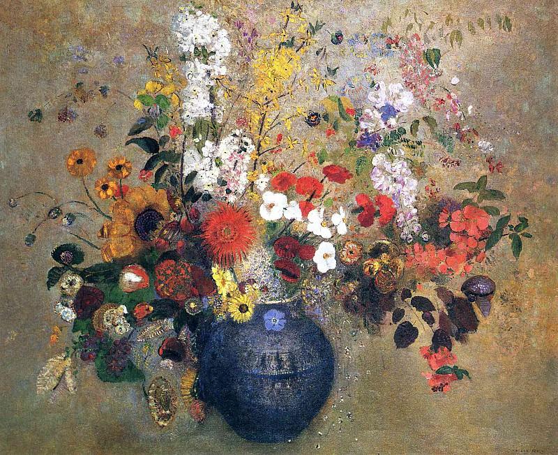 Букет цветов. Одилон Редон