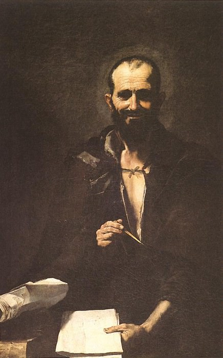 Ribera Archimedes. Jusepe de Ribera