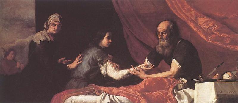 Ribera Jacob Receives Isaac-s Blessing. Хусепе де Рибера
