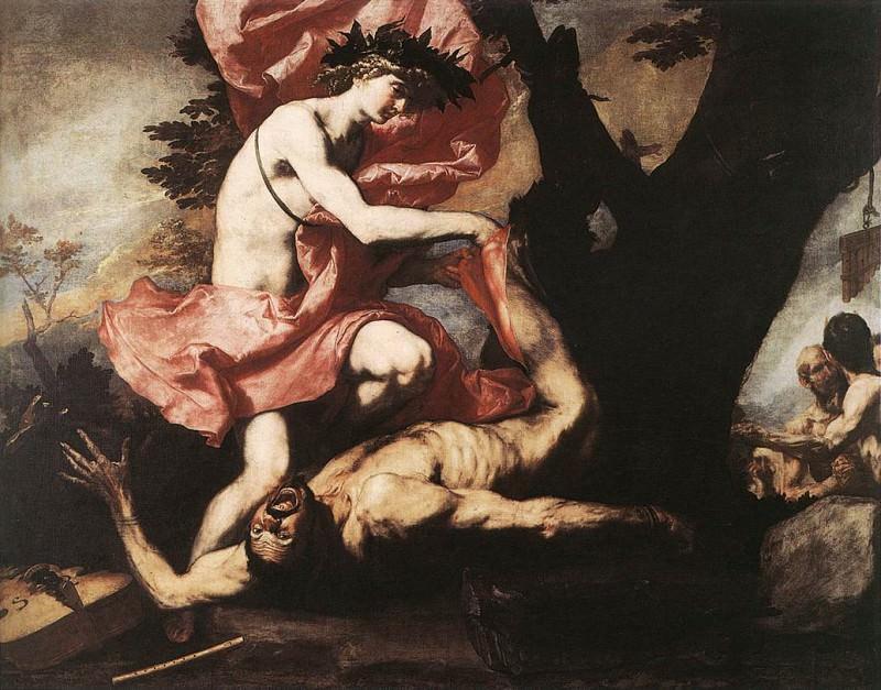 Ribera Apollo Flaying Marsyas. Jusepe de Ribera