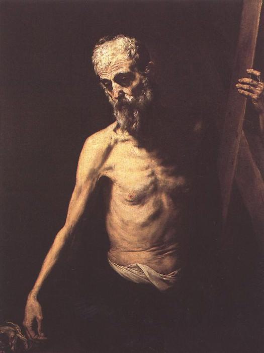 Ribera St Andrew. Jusepe de Ribera