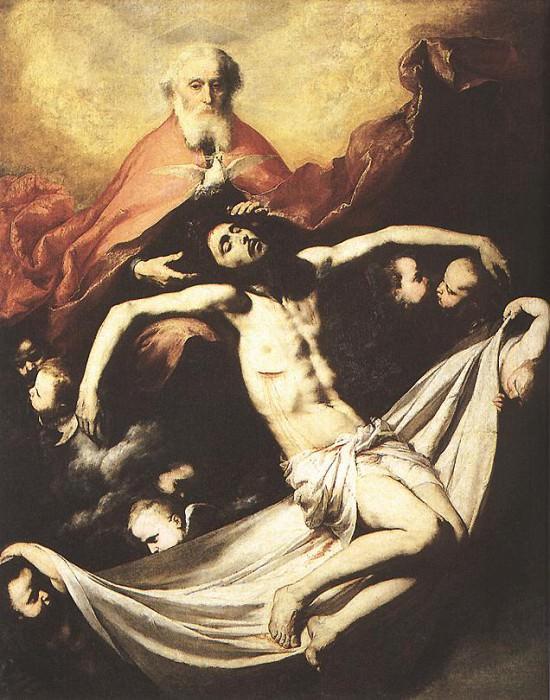 Ribera Holy Trinity. Jusepe de Ribera