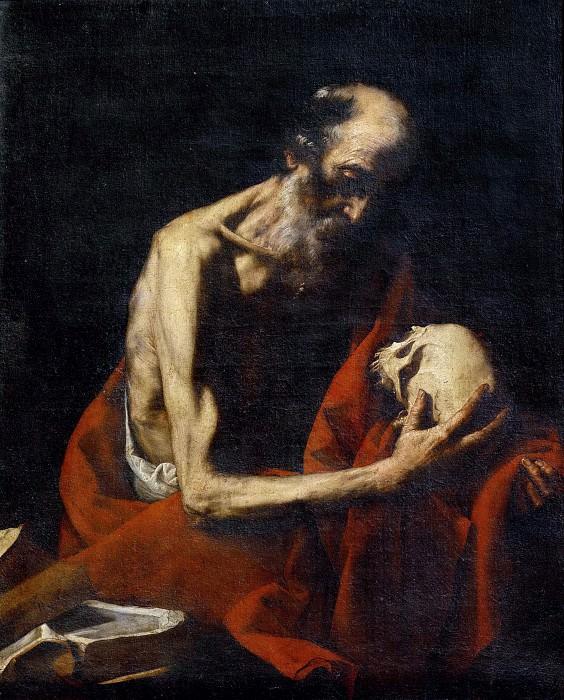 Святой Иероним. Хусепе де Рибера