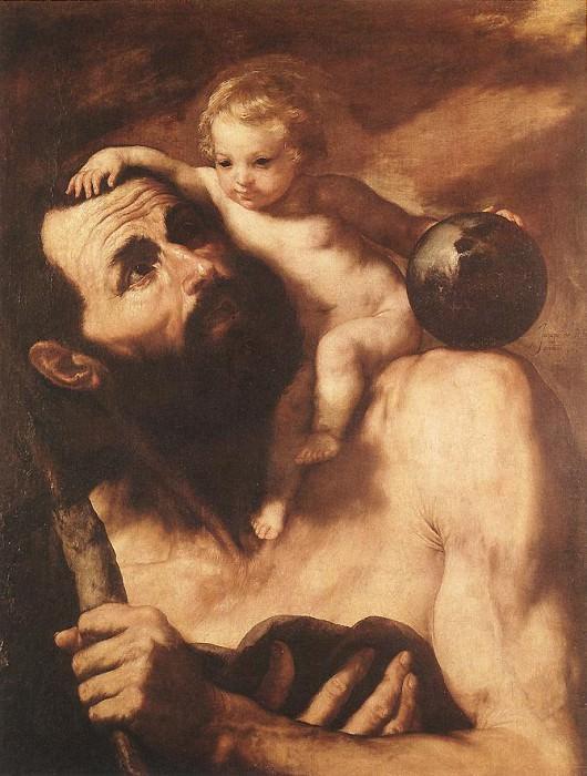 Ribera St Christopher. Jusepe de Ribera
