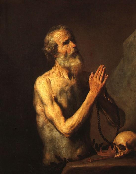 Ribera Saint Onufri. Jusepe de Ribera