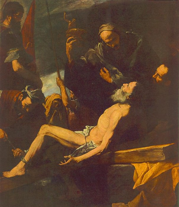 Ribera The Martyrdom of St Andrew. Хусепе де Рибера