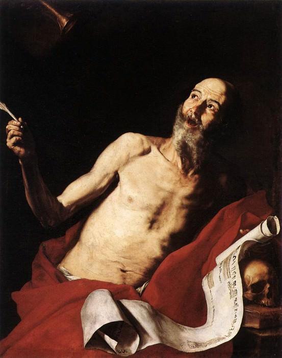 Ribera St Jerome. Jusepe de Ribera
