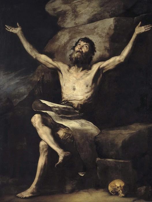 Святой Павел Отшельник. Хусепе де Рибера (Мастерская)
