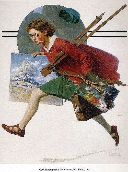 Image 412. Norman Rockwell