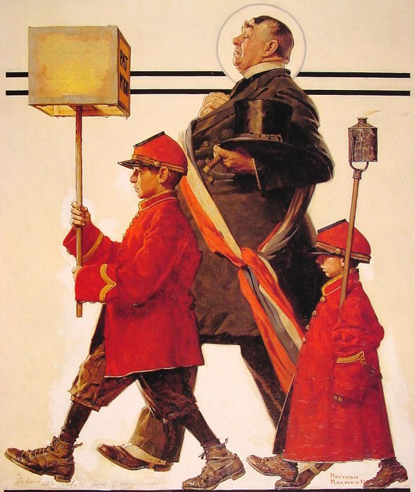 #16144. Norman Rockwell