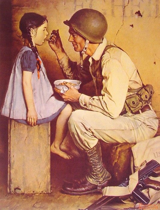 The American Way. Norman Rockwell