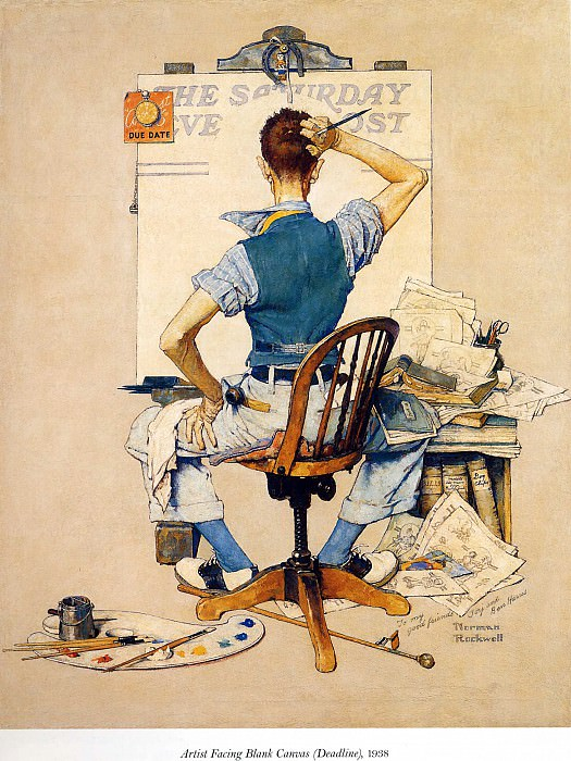 Image 405. Norman Rockwell