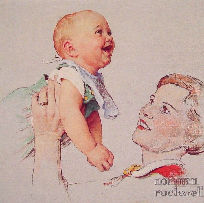 #16110. Norman Rockwell