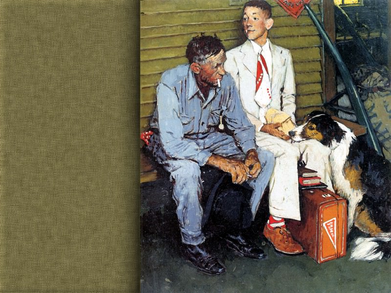 JLM-Norman Rockwell 40. Norman Rockwell