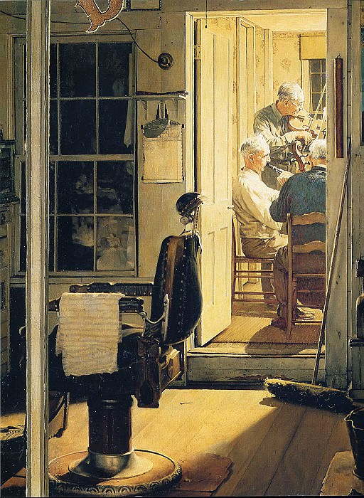 Image 454. Norman Rockwell