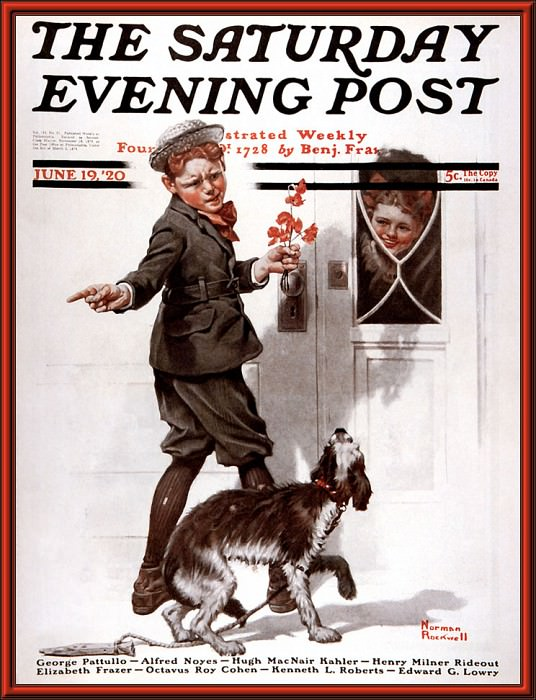 p nr cal2001 05. Norman Rockwell