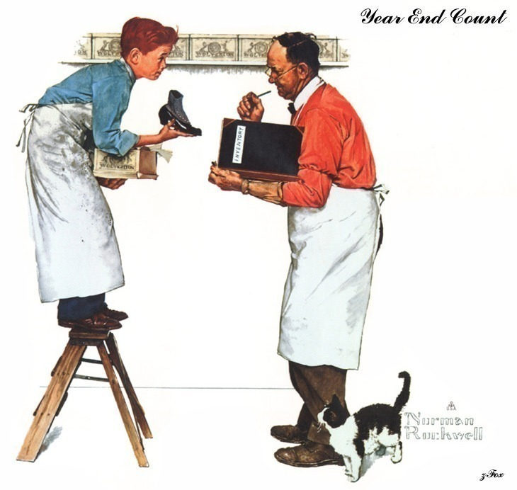 zFox 02 NR 02 Year End Count. Norman Rockwell