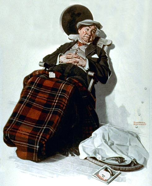 NR-RELAX. Norman Rockwell