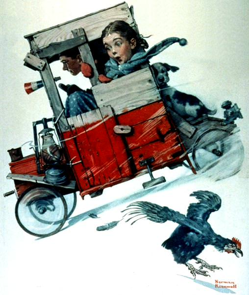 NR-ROOST. Norman Rockwell
