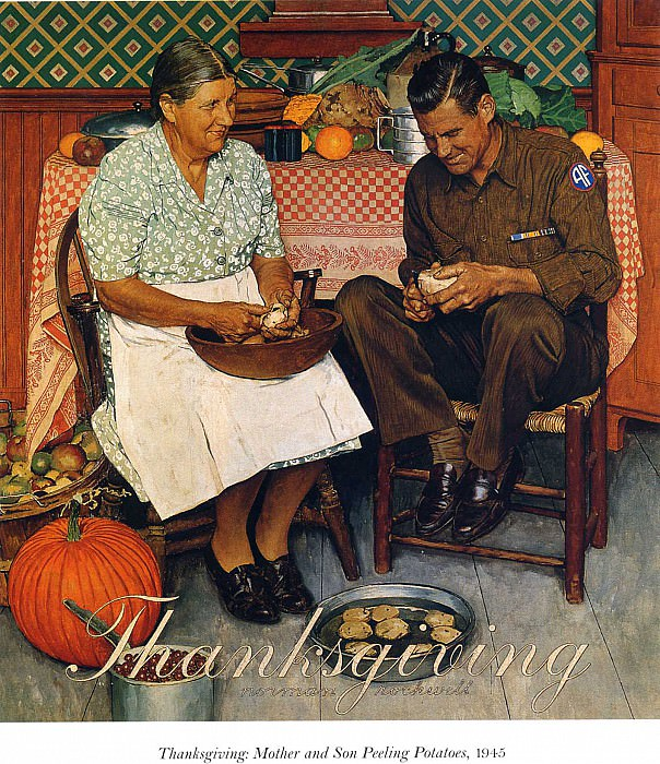 Image 403. Norman Rockwell