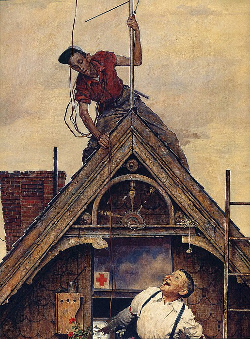 Image 440. Norman Rockwell