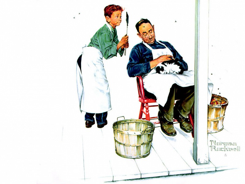 JLM-Norman Rockwell 30. Norman Rockwell
