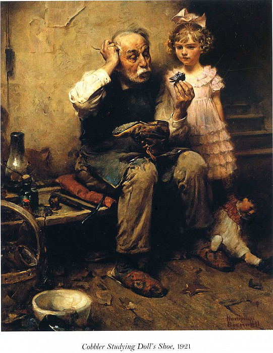 Image 448. Norman Rockwell