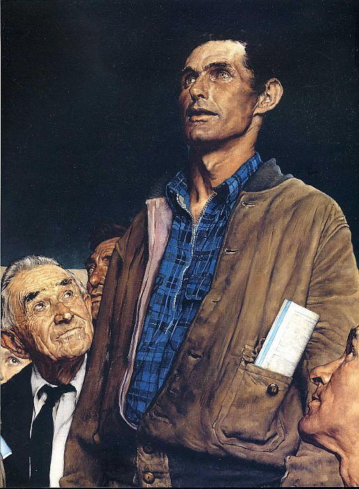 Image 415. Norman Rockwell