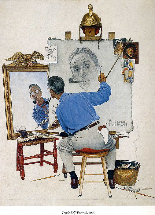 Image 411. Norman Rockwell