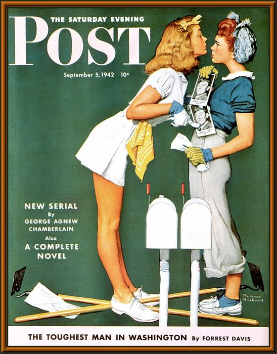 p nr cal2001 03. Norman Rockwell