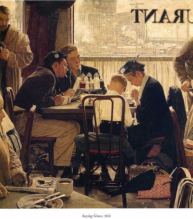 Image 399. Norman Rockwell