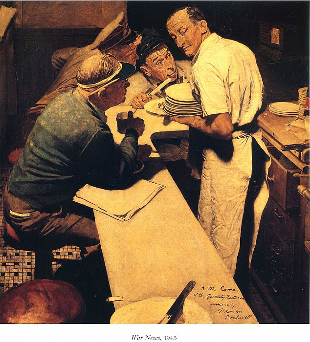 Image 439. Norman Rockwell