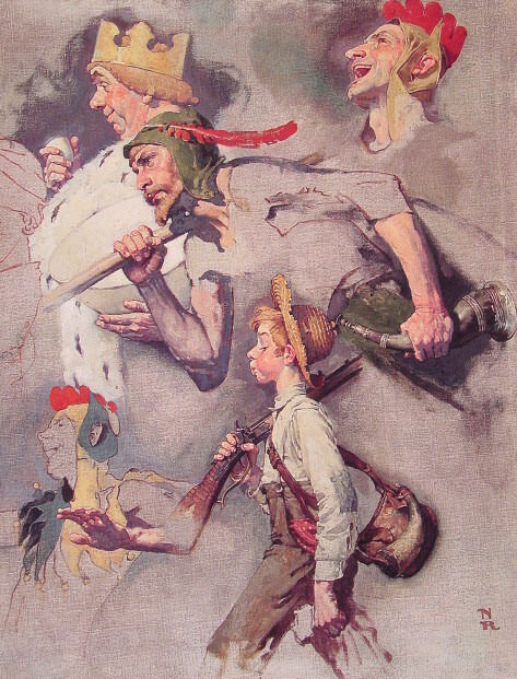 The Land of Enchantment. Norman Rockwell