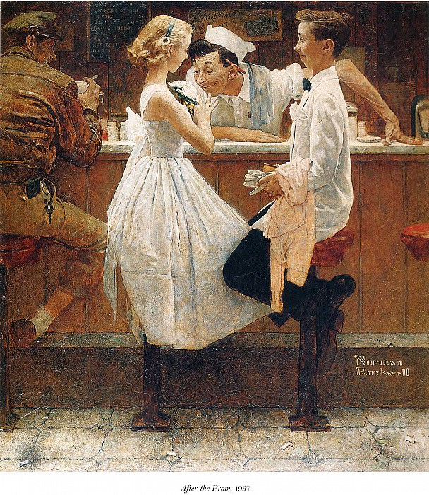 Image 423. Norman Rockwell