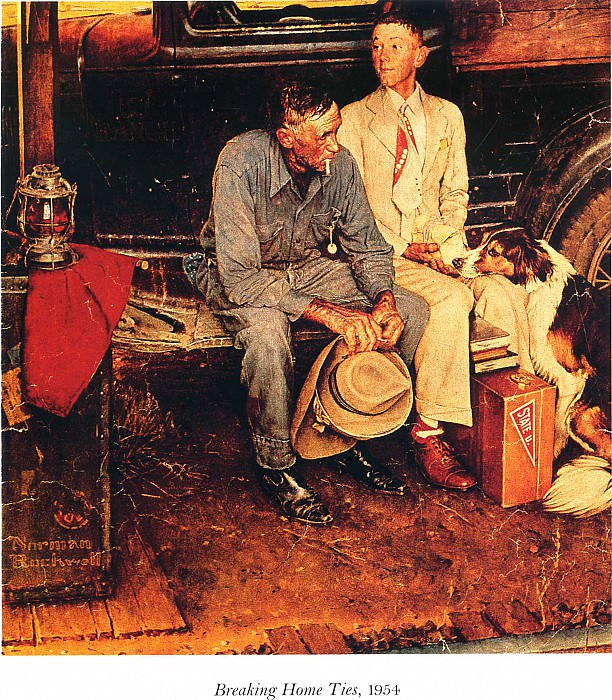 Image 435. Norman Rockwell