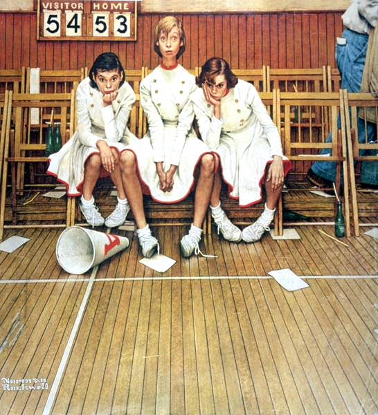 NR-CHEER. Norman Rockwell