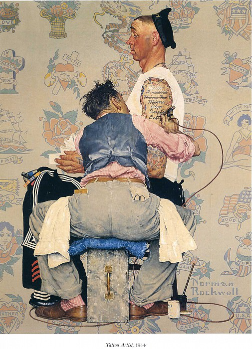 Image 368. Norman Rockwell
