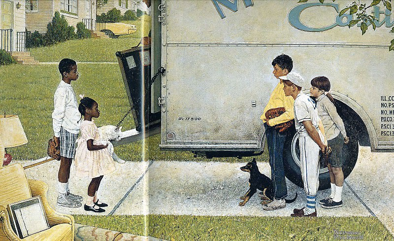 Image 391. Norman Rockwell