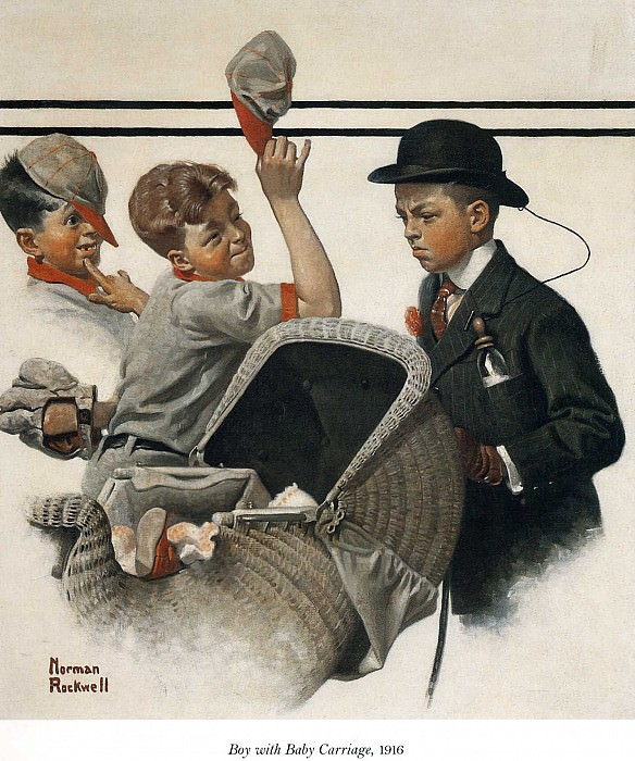 Image 385. Norman Rockwell