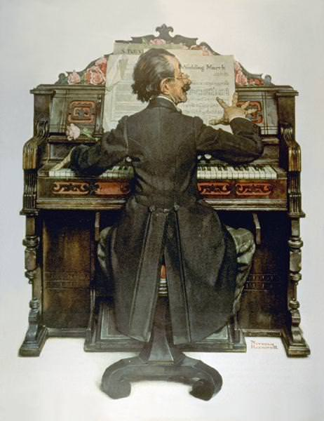 NR-PIANO. Norman Rockwell