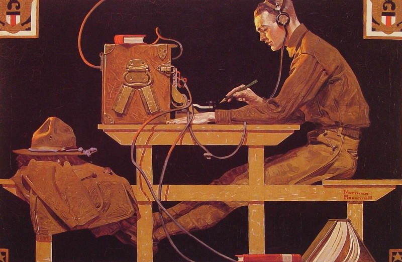 The US Army Trades. Norman Rockwell