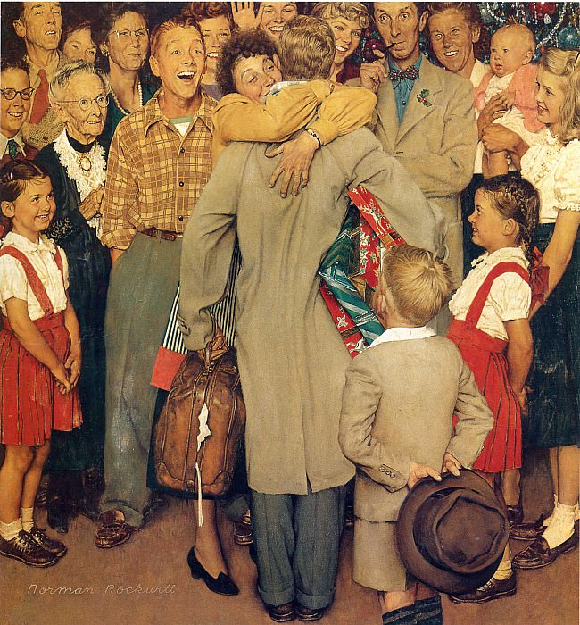 Image 366. Norman Rockwell