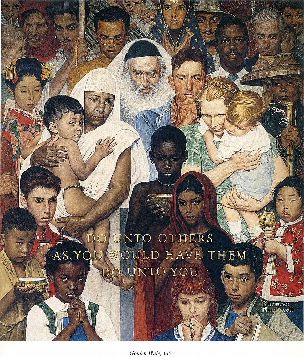 Image 420. Norman Rockwell