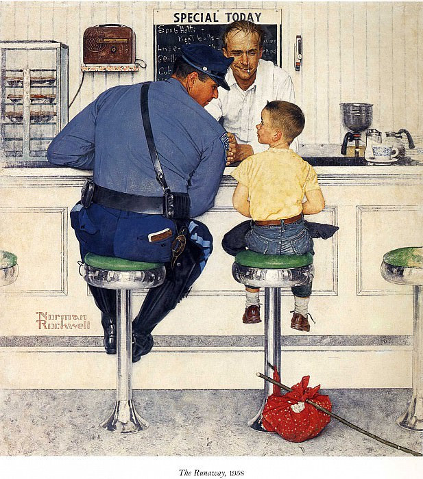 Image 429. Norman Rockwell
