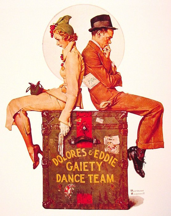 Gaiety dance Team. Norman Rockwell