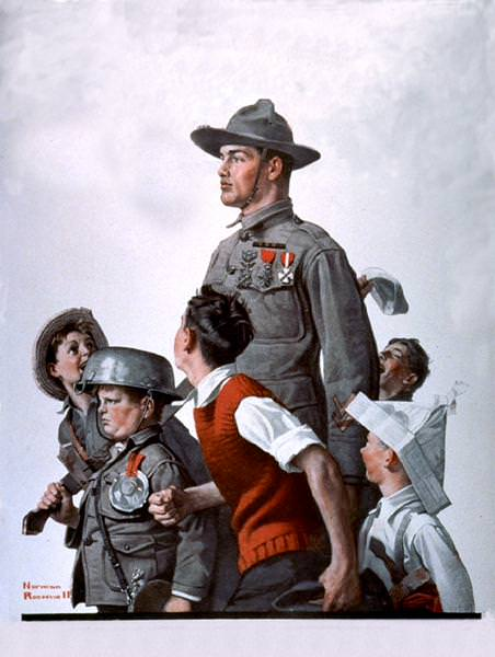 NR-SOLDR. Norman Rockwell