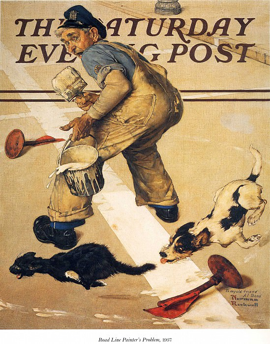 Image 371. Norman Rockwell